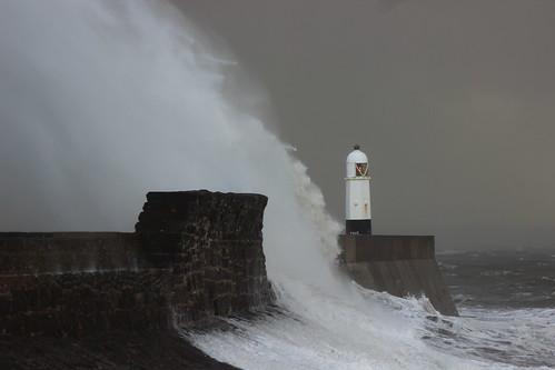 Porthcawl Storm Brian 150