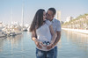 In just a week their lives will change (crisgarr) Tags: pareja couple love amor amour amore maternity pregnacy pregnant embarazo parents papas maternidad patucos portrait ritratto retrato alicante puerto agua water kiss beso bacio