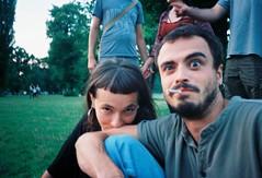 Lipe bday (Teresa Colaço) Tags: streetphotography 35mm 35mmfilm film filmisnotdead ishootfilm analog noedit olympusxa olympus people kodak ektar park berlin volkspark friedrichshain lovers