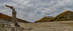 at the bottom of the dam (nickneykov) Tags: nikond7000 tokina1116mm bulgaria dam rhodope water panorama landscape