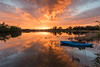 A good morning for kayaking (Rod Burgess) Tags: act canberra lakeburleygriffin sunriseboat kayak molonglovalley australiancapitalterritory australia au dawn reflections canoneos5dmarkiv canon1635f4l orange