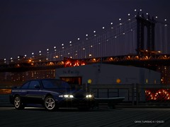 Gran Turismo 4 (Stellasin) Tags: game gaming car beauty blur screenshot graphics weather motion cars gran turismo sport nike nissan nismo gtr brooklyn