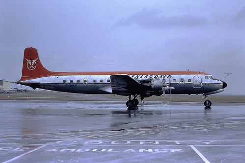 G-SIXB DC6B Air Atlantique CVT 10-03-1979
