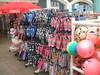 For the beach. (Bennydorm) Tags: shopping stall fujifinepix inglaterra inghilterra angleterre europe uk gb britain england sussex brighton colours footwear beachwear flipflops