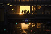 Everyone with a better view (aerojad) Tags: eos canon 80d dslr 2017 city outdoors chicagohenge chicago cityscape theloop thel train traintracks sunset goldenhour silhouette traffic chicagoist