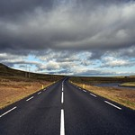 Lonely road in Iceland thumbnail