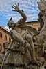 Particolare della Fontana dei 4 fiumi: Il Rio de la Plata (Paolo Bertinetti) Tags: roma piazzanavona italy bernini