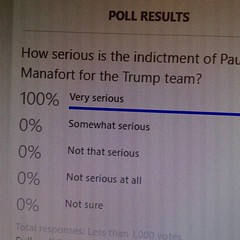Interesting poll results (cynthiarobb) Tags: