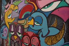 Aves entediadas (PortalJornalismoESPM.SP) Tags: becodobatman saopaulo aves corujas sono arteurbana arte grafite