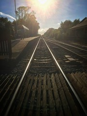 Howden Station (phil_male) Tags: railway tracks trainline