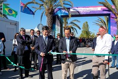 Lisbon stopover, Race Village opening. Photo by Jesus Renedo/Volvo Ocean Race. 31 October, 2017.