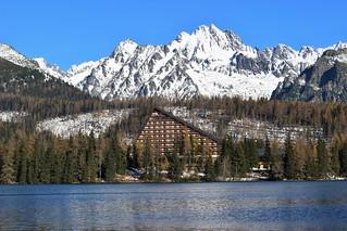 Hotel Patria in Strbske pleso, High Tatras, Slovakia