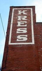 Kress (T's PL) Tags: brick johnsoncitytennessee johnsoncitytn kress nikond7000 nikon d7000 nikondslr sign tamron16300mmf3563diiivcpzdmacro tamron16300mmf3563diiivcpzdmacrob016 tamron16300mm tamron nikontamron tennessee text