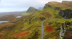 The Quiraing in autumn on the Isle of Skye Scotland (Dave Russell (1.5 million views thanks)) Tags: quiraing rock mountain mountains road isle island skye scotland inner hebrides land landscape view scene scenery nature weather outdoor range travel tourism west western