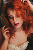 Ancient Dream (Arianna Ceccarelli Photography) Tags: portrait girl redhair hair ginger beauty makeup beautiful conceptual fineart vintage ancient mood photography photographer face lips people fashion photoshoot warm colors