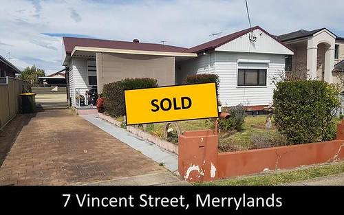 7 Vincent Street, Merrylands NSW 2160