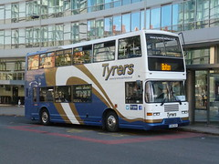 Tyrers Coaches CHO213Y 16082017 (Rossendalian2013) Tags: bus manchester piccadilly railway station railreplacement volvo olympian eastlancashirecoachbuilders pyoneer cho213y s463atv nottinghamcitytransport tyrerscoachesadlington