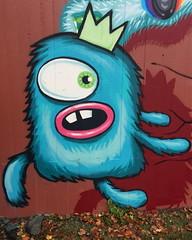 Gyldenpris Monsters (svennevenn) Tags: gatekunst streetart bergen barnslig monsters