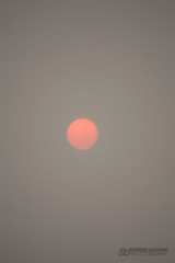 Red Sun (alalchan) Tags: autumn october sun red redsun orphelia storm hurricane