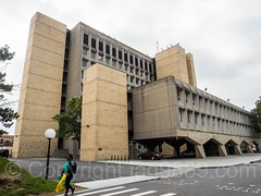Meister Hall, Bronx Community College, New York City (jag9889) Tags: 2017 20171015 allamericacity architect architecture bcc breuer bronx bronxcommunitycollege building cuny cityuniversityofnewyork college drmorrismeister event facade hall house landmark marcelbreuer marcellajosbreuer meisterhall modernist ny nyc newyork newyorkcity newyorkisopen ohny ohnyweekend openhouse openhousenewyork outdoor road technologyiii thebronx tower tree usa unitedstates unitedstatesofamerica universityheights westbronx woman jag9889