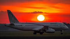 EI-FWA (tynophotography) Tags: ams eham schiphol amsterdam airport cityjet sukhoi superjet 100 eifwa
