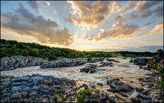 Setting Sun @ Great Falls (Nikographer [Jon]) Tags: greatfallsnationalpark greatfalls 20170708d4251632 summer jul july 2017 nikographer nikon d4 nikond4