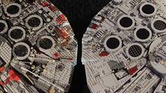 10179 vs 75192 10 (YgrekLego) Tags: ucs millenium falcon lego 10179 75192 comparison falke spaceship star wars epic lights gino lohse ygreklego