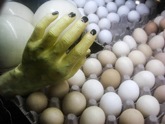 Handpicked Witchy Eggs (prima seadiva) Tags: creamery halloween pikeplace eggs hand witch