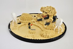 Star Wars Ring-worlds:  In The Wilderness of Atollon (Inthert) Tags: atollon bendu spider krykna kanan jarrus dokma coral star wars ringworlds vignette diorama scene rebels widerness lego moc landscape holocron ring circle