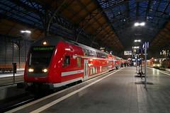 P1400324 (Lumixfan68) Tags: eisenbahn steuerwagen bauart dbpbzfa 7664 doppelstockwagen doppelstocksteuerwagen bombardier wendezüge doppelstockzüge deutsche bahn db regio sbahn dresden