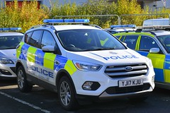YJ17 KJU (S11 AUN) Tags: north yorkshire police nyp ford kuga 4x4 anpr adt specialist advanced driver training driving school offroad trainer patrol panda incident response car rural policing unit 999 emergency vehicle yj17kju