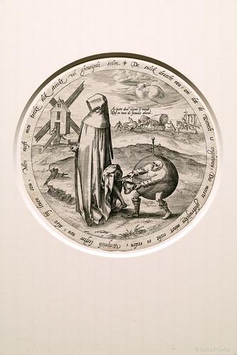 Pieter Bruegel: Der Misanthrop / The Misanthrope, c. 1568