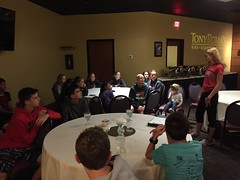 "Julia Schultz Speaks to the 2017 State Cross Country Team • <a style=""font-size:0.8em;"" href=""http://www.flickr.com/photos/109120354@N07/26190584829/"" target=""_blank"">View on Flickr</a>"