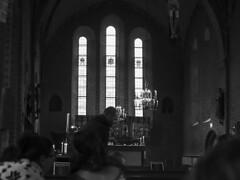 Högmässa - människor 20171029 (My Photolifestyle) Tags: människor fotosondag kyrkan mariakyrkan sigtuna fs171029