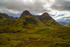 The Scottish Highlands (lncgriffin) Tags: glencoe scotland unitedkingdom greatbritain highlands threesistersmountainrange waterfall landscape scottishhighlands volcano glencoemassacre mountains a82 travel nikon d750 zeiss distagon distagon2128zf