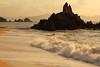 The beach (Teruhide Tomori) Tags: ocean beach fukui hokuriku wakasa sea sunset landscape rock suishohama japon japan afternoon 福井県 若狭 水晶浜 美浜 日本 北陸 風景 water sand wave