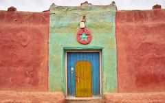 Kasbah 7 (orientalizing) Tags: berber desktop doors featured houses morocco mudbrick tighmert