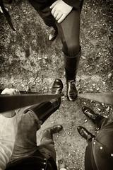 Stiefel (CA_Rotwang) Tags: boots tracht tradition faltenstiefel dachau leder leather possenhofen chevauleger uniform stiefel reitstiefel equestrian historic historisch bayern soldat soldier votivkirche starnberger see berg posenhofen säbel degen sword armee army münchen munich bavaria germany deutschland