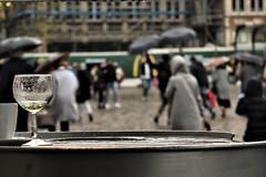 Rainy day (KevinCallens) Tags: rain autum belgium city europe flanders ghent outdoors people random sightseeing travel tourisme korenmarkt urban visitgent weather flickr kevin callens xxx art artist alwaysunderconstruction kevincallens