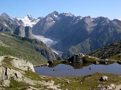 Glacier de Fiesch (Pierre Roy (woper25)) Tags: glacier glace montagne massif montagnes suisse switzerland neige randonnée nature 4000 glacierdaletsch aletsch fiesch glacierdefiesch
