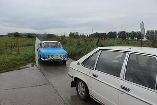 At the Dutch-Belgian border