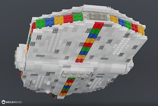 Spacetaxi to the LEGO House