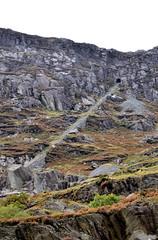 Wrysgan Incline (R~P~M) Tags: train railway quarry mine funicular incline slate tunnel mountain wrysgan tanygrisiau blaenaufestiniog gwynedd wales cymru uk unitedkingdom greatbritain