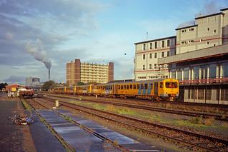 NS DH II + 2 x DH-I + DH-II  trein Delfzijl - Groningen  - Groningen