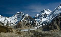 Mount Everest Base Camp (Kramskorner) Tags: mount everest base camp 2017 katmandu mountains himalayas pumori ama dablam snow capped peaks summit trek trekking hiking high altitude sony a7ii 24240mm landscape sunrise bw