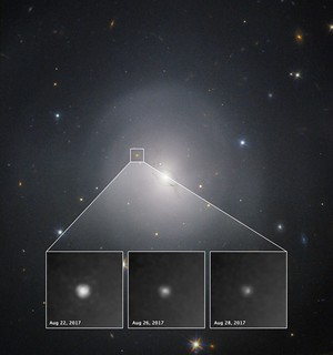 Gravitation Waves from NGC 4993, annotated