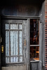 Your Grandmother's Lace (Goromo) Tags: lace door oldfashioned worn letterslot apartmentbuilding ukrainianvillage chicago chicagoneighborhood weathered