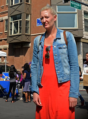 Division Street (tacosnachosburritos) Tags: 2017 renegade craft fair summer chicago neighborhood westtown wickerpark east village sexy hot gorgeous beautiful man guy woman girl chick lady milf humanity people shopping booth tent vendor artist artisan hipster trendy fashion winy city urban gritty thestreets street photography
