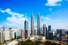 Kuala lumpur city skyline, Malaysia (Patrick Foto ;)) Tags: architecture asia asian blue building buildings business capital center cities city cityscape day design downtown financial high klcc kuala landmark landmarks landscape lumpur malaysia modern morning office petronas scene sky skyline skyscraper tall tallest tourism tower towers town travel tree twin urban view world kualalumpur wilayahpersekutuankualalumpur my