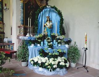 Madonna in der Klosterkirche Wittichen